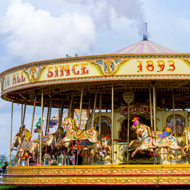 Childrens entertainment and rides