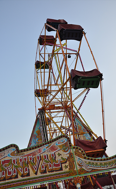 fairground and childrens area