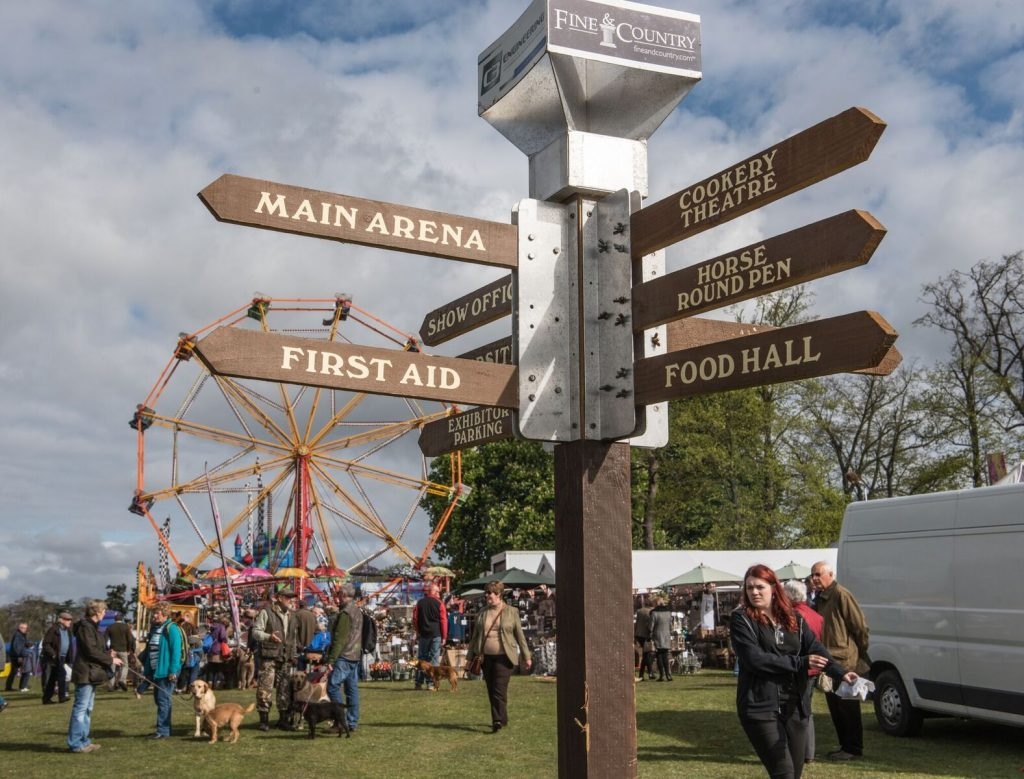 trade stand avenues at the game fair