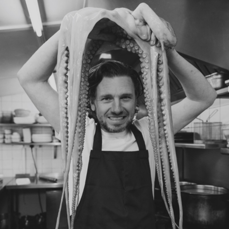 Justin Sharp Chef - Pea Porridge