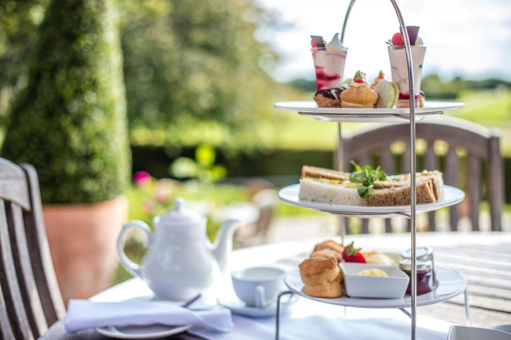 Afternoon Tea Barnham Broom Hotel