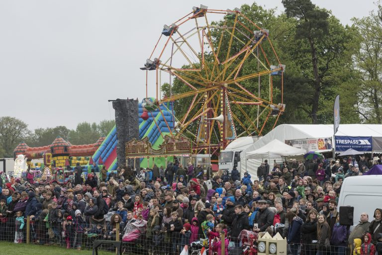 Crowds At The Game Fair